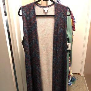 NWT LuLaRoe Joy long vest